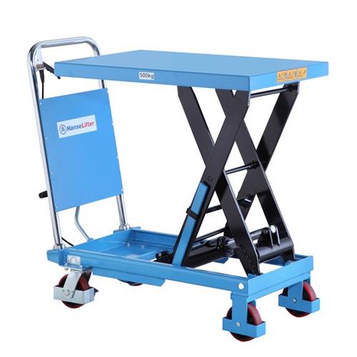 Bluetruck | HanseLifter | Pallet stackers | Lift tables UK